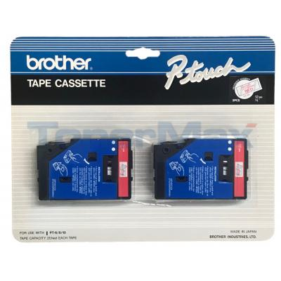 BROTHER P-TOUCH RED TRANSFER 12MM